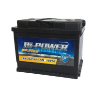 Bi-Power Plus 62Ah 600 А[EN] R+
